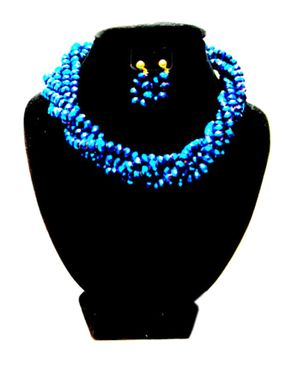 Team Twisted Beaded Jewelry - Blue
