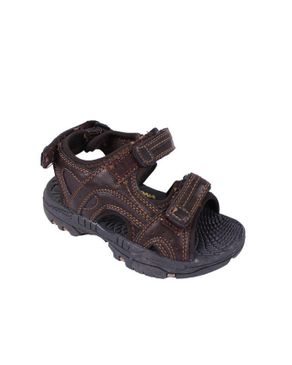 Velcro Sandal- Brown