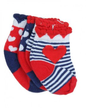 Young Life 3 Piece Baby Girls Socks
