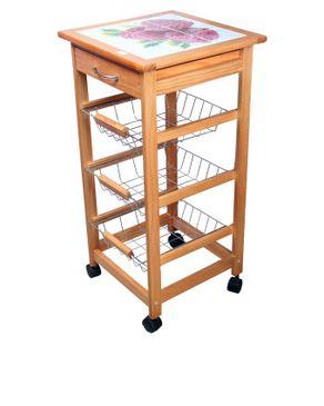Costco Kitchen 3 Layers Cart