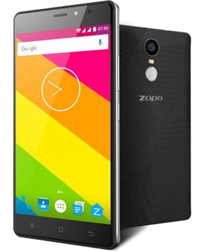 Zopo Hero 2 - 4G Smartphone 5.5 Inch Android 6.0 Fingerprint OTG 16GB EU Plug - Black