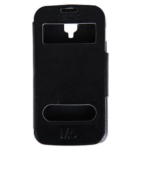 Universal Cool Foldable Flip Case for Tecno M5 - Black