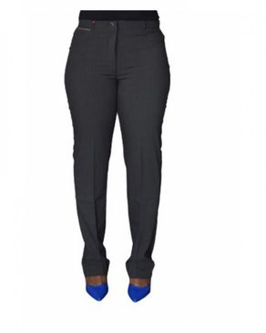 AWW Formal Cotton Trouser- Dark Grey