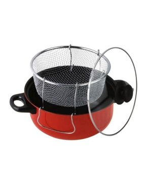 Universal (Reduced Shipping Fee) Non-Stick Manual Deep Fryer - 24cm