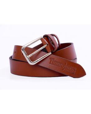 Timaro James Collection TJ Tan Brown Unisex Belt