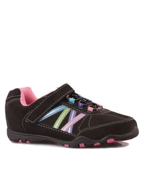 Smart Fit Girls Trainers- Brown/ Pink