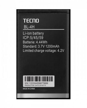 Tecno BL-4H Replacement Battery
