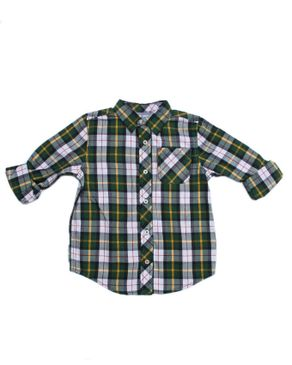 Foldable Long Sleeve Shirt - Green
