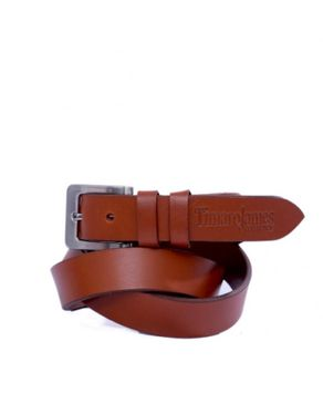 Timaro James Collection Tan Unisex Belt