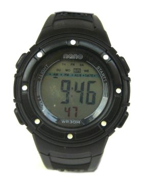 Nano Kids Digital Wristwatch - Black