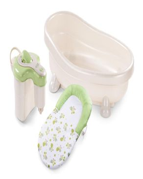 Soothing Spa And Shower Baby Bath