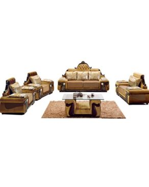 WING-HAN (Reduced Shipping Fee) 7 Sitter Elegant PU Leather Sofa A102
