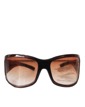 Fashion Over-Sized Unisex Sunglasses-Brown