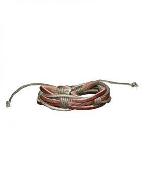 Sunflower Leather Unisex Bracelet -Brown