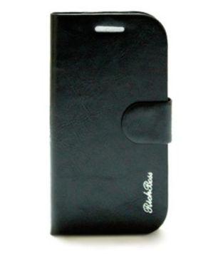 RichBoss Leather Flip Case for Q10 - Black