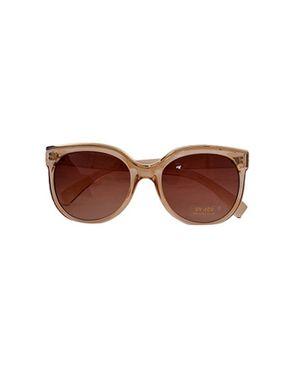 New Religion The Kitty Retro Square Sunglasses - Gold