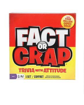 Spin Master Games Fact or Crap Board Game