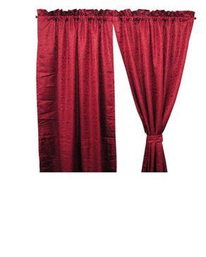 Jason Patrick Cardinal Curtain - Red
