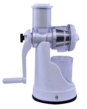 Universal (Reduced Shipping Fee) Manual Fruit Juice Extractor With Cup - White