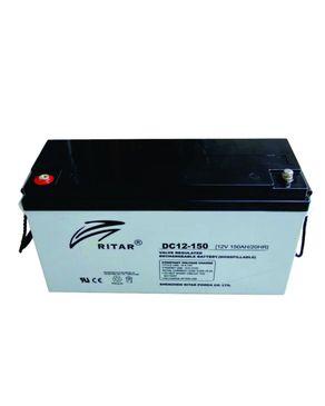 Ritar Ritar 12V/150Ah AGM Deepcycle Battery - 10 years Lifespan