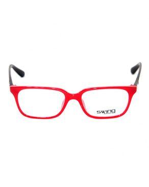 Swing Col.73 Womens Eyeglasses -Red/Black