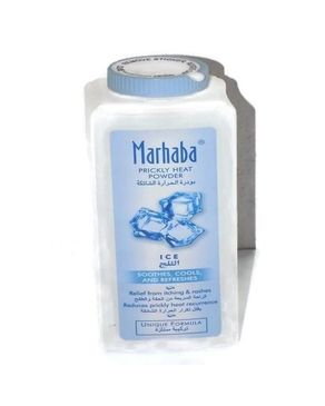 Marhaba Marhaba Prickly Heat Powder - Ice - 200gms