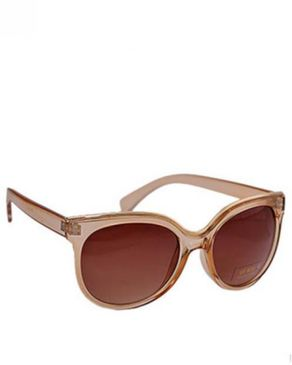 New Religion The Eagle Oval Sunglasses - Brown