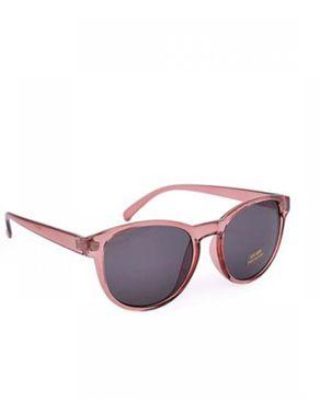 New Religion The Kria Retro Square Sunglasses - Burgundy