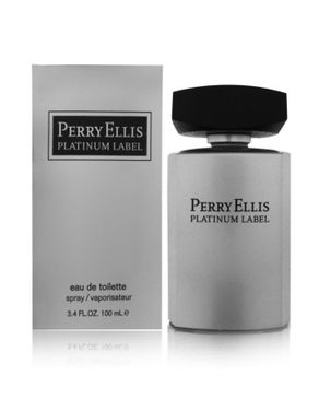 Perry Ellis PLATINUM LABEL EDT 100ML FOR MEN