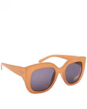 New Religion The Riana Rectangular Sunglasses - Brown