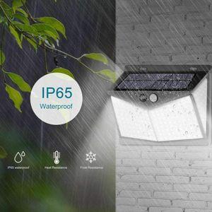 Automatic 208 LED Solar Motion Garden Lamp
