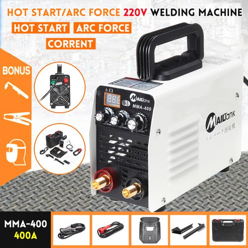 220V 400A MMA Hot Start/ARC Force Stick Inverter Welding Machine IGBT Welder