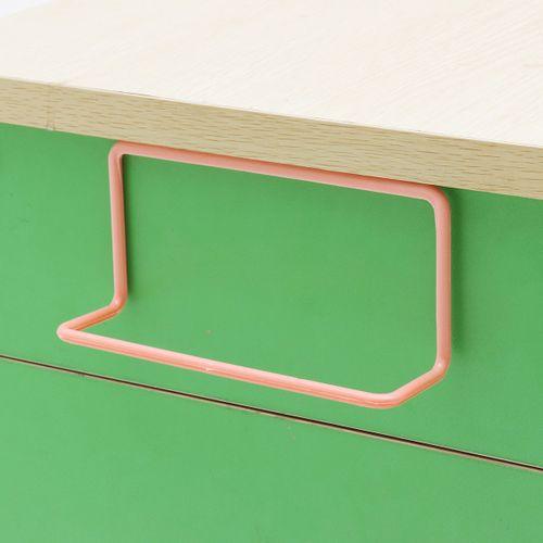 Over Door Tea Towel Rack Bar Hanging Holder Rail Organizer Bathroom Kitchen Cabinet Cupboard Hanger Shelf