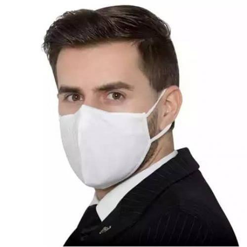 3 Pieces Reusable Nose Masks - White
