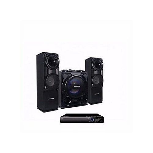 Bluetooth Sound System With Built-In Amplifier - Pv-Sub811 + Free DVD