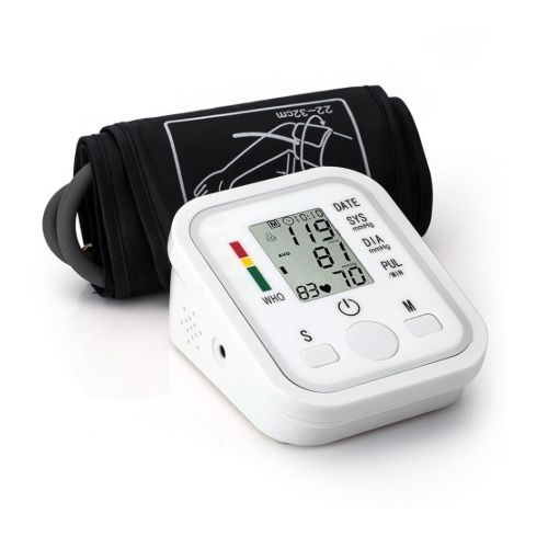 Digital Pulse Upper Arm Blood Pressure Monitor Heart Beat