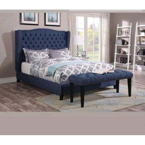 Royal Ace 6 By 6 Bed+Ottoman+Pillows-Free Lagos Delivery