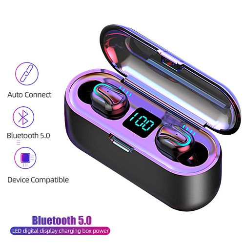 Bluetooth Earphone Wireless Earbud Earpieces With Charging