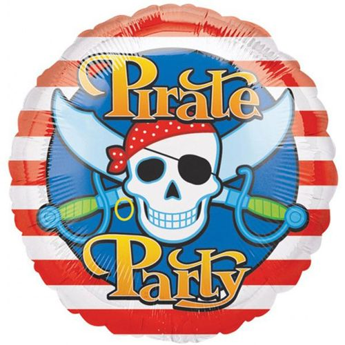 "Pirate Party 18"" Helium Birthday Balloon Party Decoration"