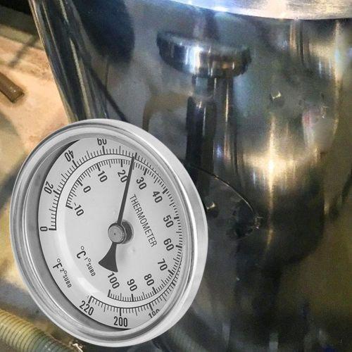 Weldless Bi-metal Thermometer Kit 1/2