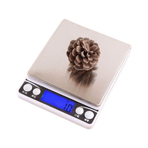 I2000 Blue Backlight Precision Kitchen Jewelry Electronic Scale