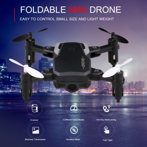 8810W 720P Wide Angle Camera WiFi FPV Mini Drone Altitude Hold RC Quadcopter For Beginners Kids Indoor Outdoor Play Toy