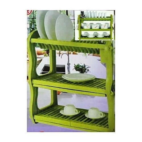 3 Layer Durable Plastic Dish Rack