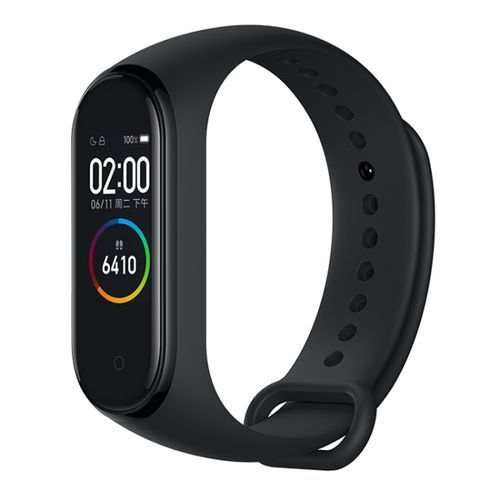 Mi Band 4 Fitness Tracker Health Bracelet (Black)