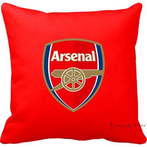 Club Football Throw Pillow (Arsenal FC)- Red