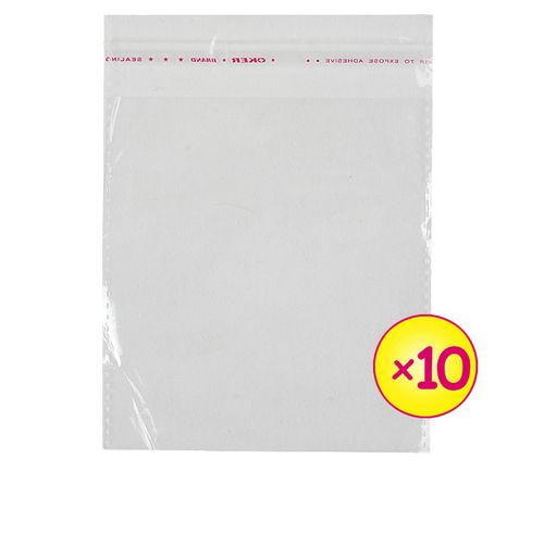 5000pcs Transparent Packaging Nylon Size4X5Cm