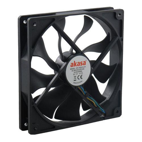 Akasa APACHE 12CM 4Pin PWM Cooling Fan 12V S-FLOW Fan Heat Sink Hydro Dynamic Bearing
