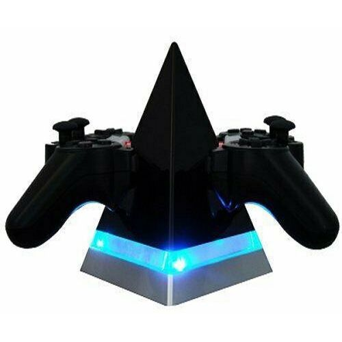 Venom Pyramid Dual Charger With Usb Cable For Ps3