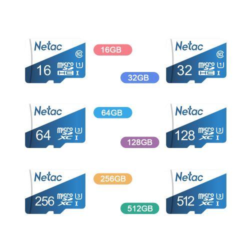 Netac P500 Overseas Version Class 10 Micro SDXC TF Flash