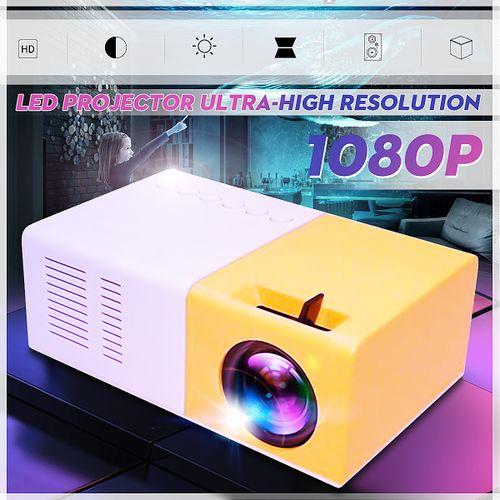 YG300 Mini Portable Multimedia LCD Projector Full HD 1080P
